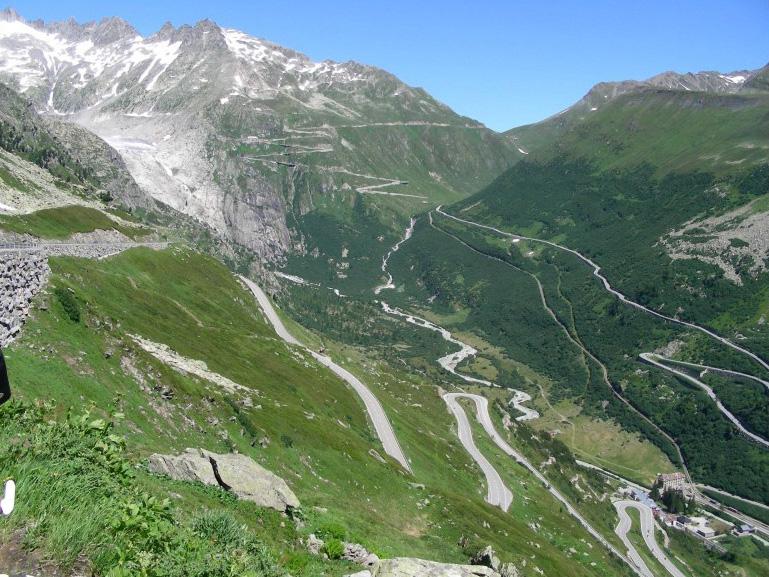 Fahrradtour Alpenpanorame mit Passtraße