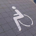 Symbol für Rollstuhlfahrer