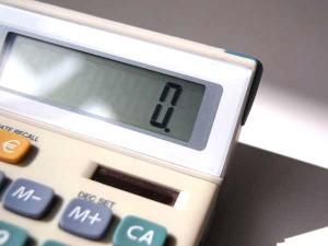 Taschenrechner, Schuldenberatung