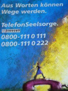 Telefonseelsorge Plakat