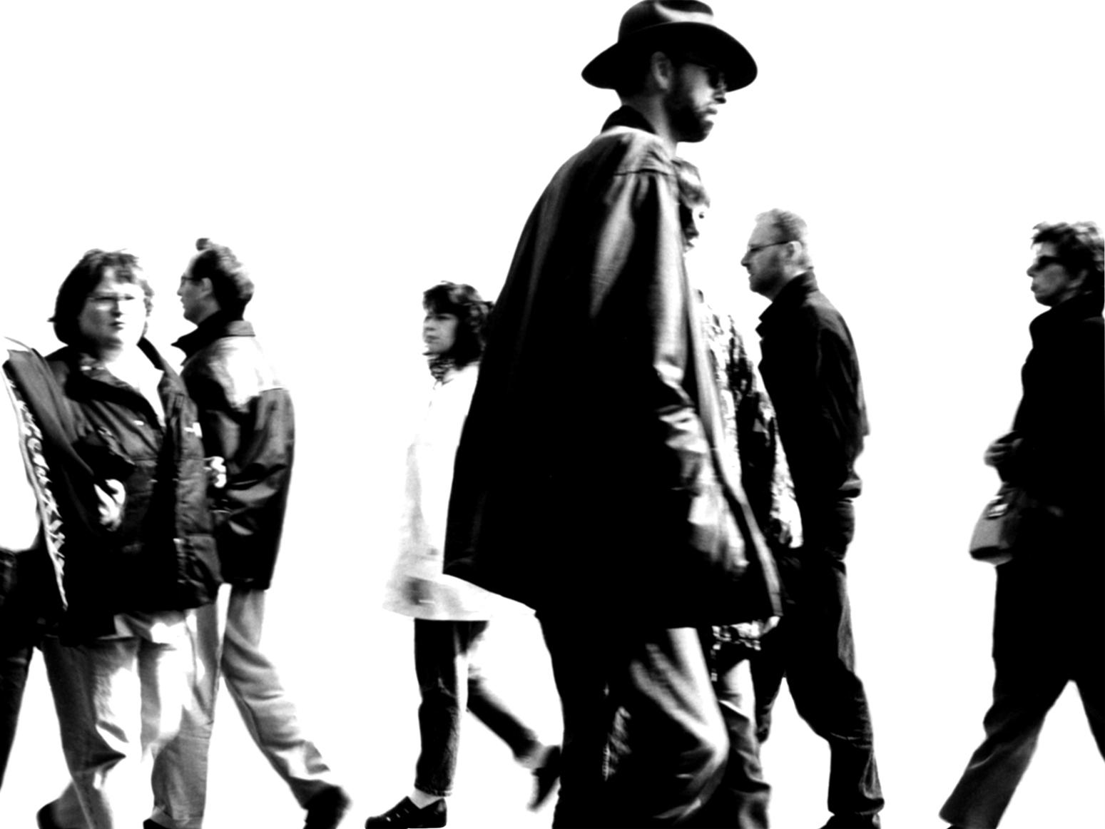 Menschen Gehen