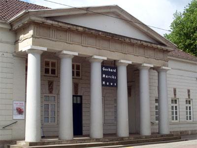 Portal mit Säulen, Gerhard Marcks Haus