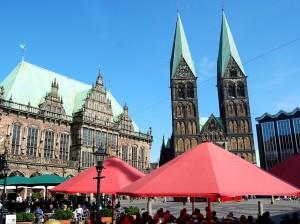 St. Petri Dom, Bremer Dom, Marktplatz, Rathaus, Bürgerschaft