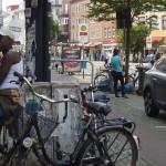 Fahrräder und Fahrradweg
