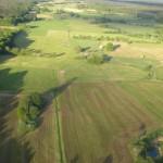 Luftbild einer Norddeutschen Landschaft