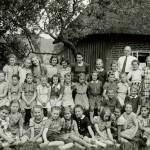 Mädchenklasse in den 50ger Jahren