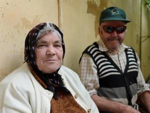 Portrait zweier alter Personen