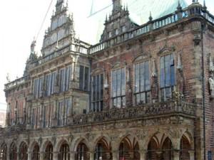 Reformation, Vorderansicht des Bremer Rathauses