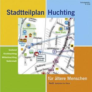 Cover mit Ausschnitt aus Stadtplan
