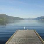 Steg beim Sognefjord