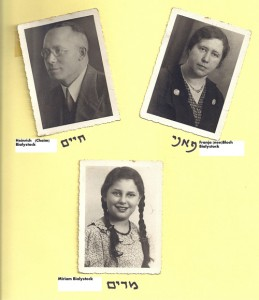 Drei Fotos mit Unterschrift