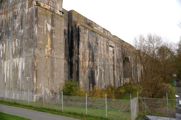 Bunker Valentin Aussenansicht