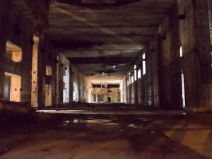Bunker Innenansicht
