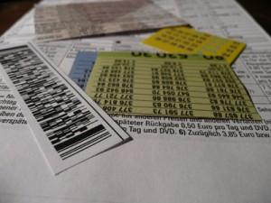 Interviewer Statistik, Strichcode und Zahlen