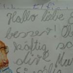 Ausschnitt aus einem Kinderbrief