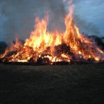 Großes Osterfeuer