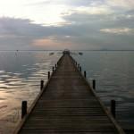 Steg ins Wasser