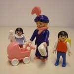 Playmobilfiguren Mutter/Oma mit Kindern