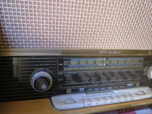 Altes Röhrenradio, Musiktruhe