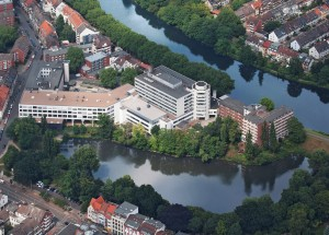 Rotes Kreuz Krankenhaus, Luftaufnahme
