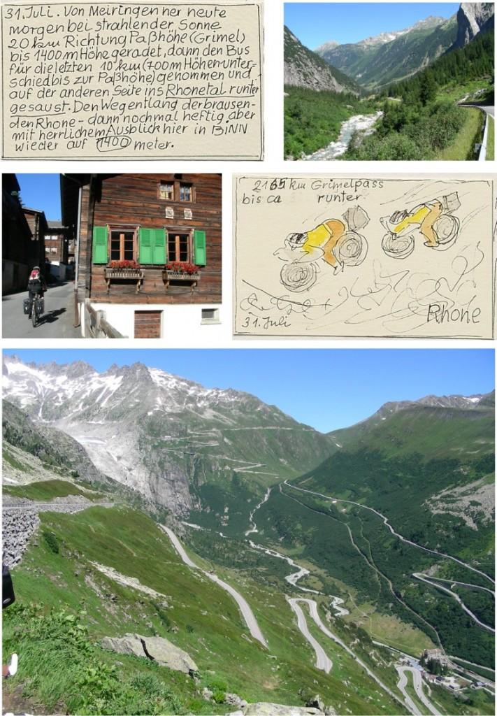 Fahrradtour Alpenpanorama