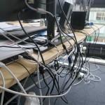 Computer-Kabelsalat