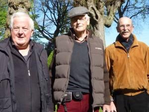 BouleBoysBorgfeld, Drei Männer