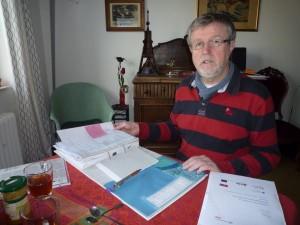 Michael Ring, Mann am Schreibtisch