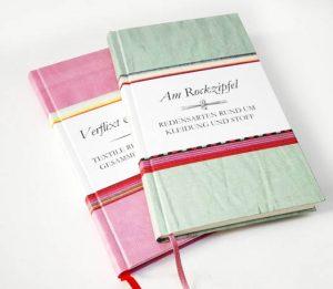 Textile Redewendungen Zwei Bücher