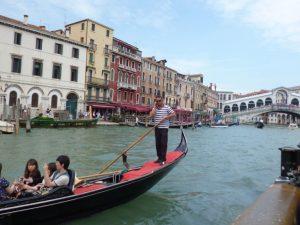 Venedig, Knal und Gondel