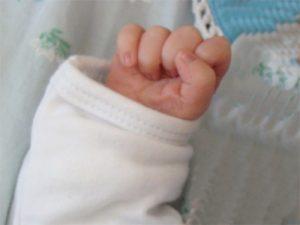kleine Babyfaust