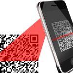 Handy scannt QR-Code