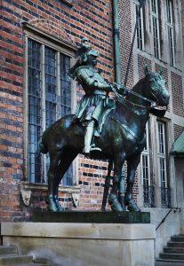 Reiter Skulptur