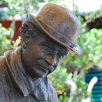 Heini Holtenbeen, Kopf einer Statue mit Hut