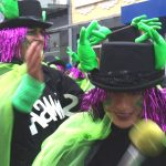 Karneval, Sambagruppe in Bewegung