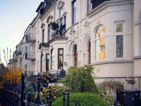Typische Bremer Häuserzeile