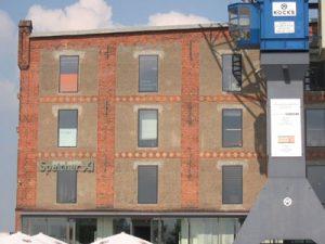 Überseestadt Speichergebäude Frontseite