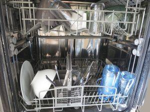 Anbieterwechsel, Das Innere einer Spülmaschine