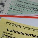 Formulare und Lohnsteuerkarte