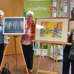 Das Bremer Malquartett, Vier Frauen vor Ihren Werken