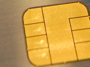 Chip einer EC Karte