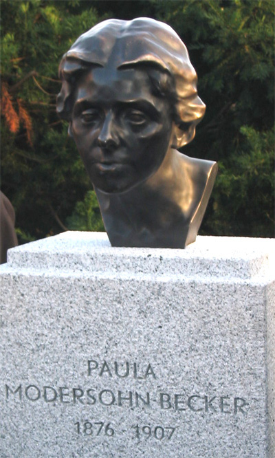 Paula Modersohn-Becker Kunstpreis, Bronzekopf einer Frau