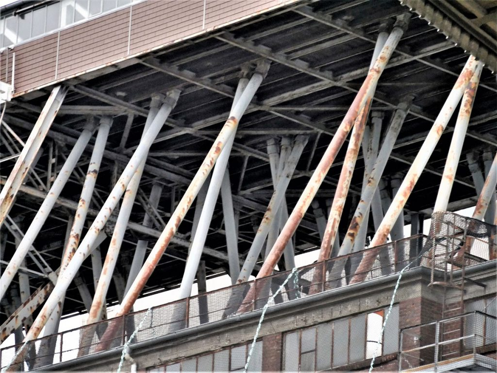 Industriegebäude, Ausschnitt