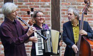 Sol sayn gelebt, drei Musiker