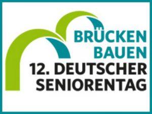 Der Deutsche Seniorentag, Logo mit zwei stilisierten Brücken