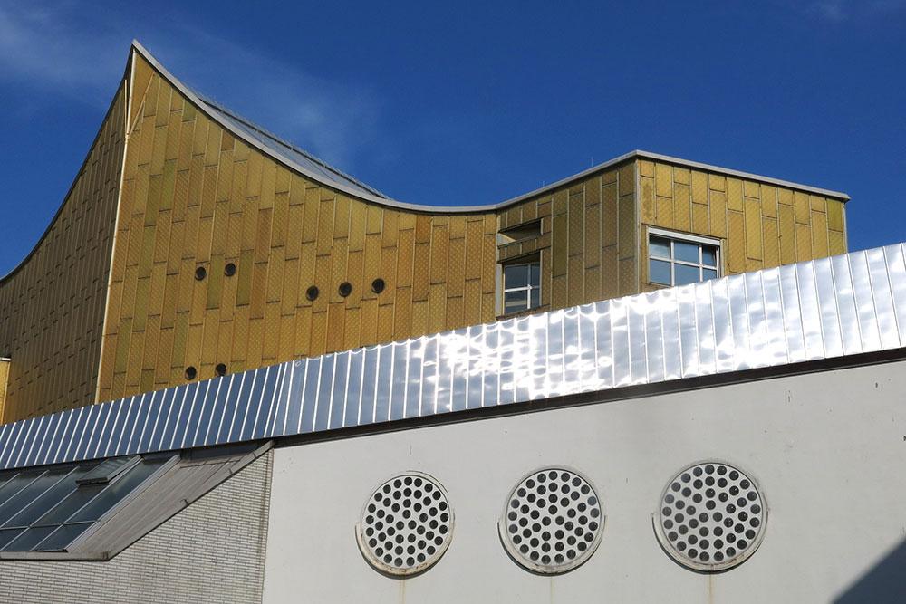 singen, Modernes Gebäude
