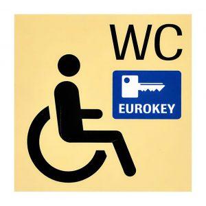 Piktogramm für Eurokey WC