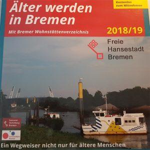 Tielseite Broschüre Älter werden in Bremen