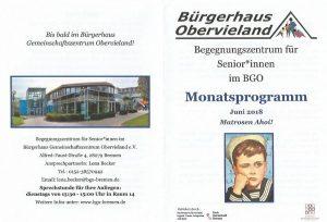 Flyer Begegnungszentrum Bürgerhaus Obervieland