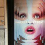 Werbeplakat Beautyshop
